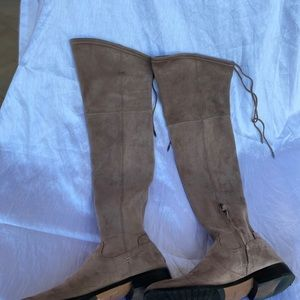 Dolce vita beige over the knee boots. 9,5 UC